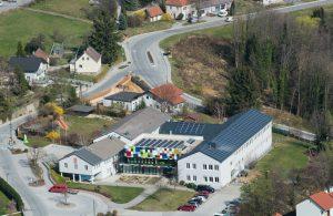 Luftbild Gemeindezentrum