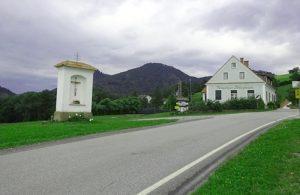Einstieg zur großen Raabklamm (Parkplatz)